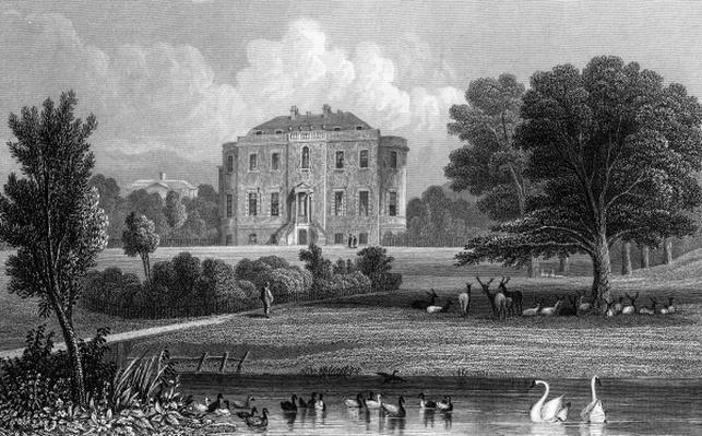 Wivenhoe Park, Essex, 1835