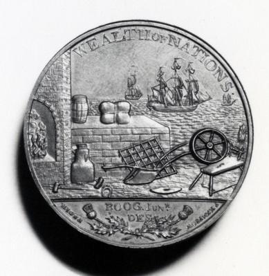 Scottish Penny commemorating Adam Smith