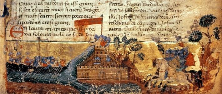 Fr 4972 f.1: Jerusalem in the Crusades