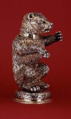 Model of a bear, by Christophe Ritter, Nuremberg, c.1580