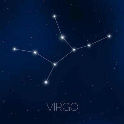 Virgo constellation in night sky | Earth and Space