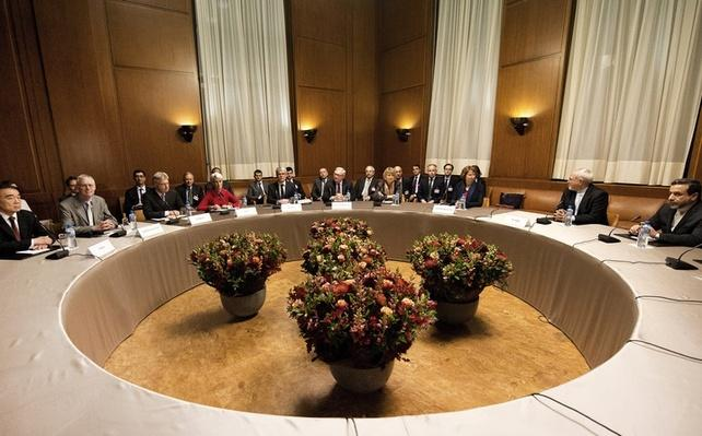 Negations over the future of Iran's nuclear program take place in Geneva, Switzerland Video