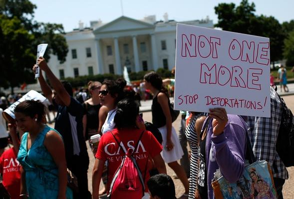 Immigrants And Activists Protest Obama Response To Child Immigration Crisis | U.S. Immigration | 1840's to present | U.S. History