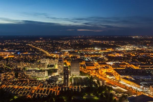 Munich from Olympiaturm (Olympic Tower) | Cityscapes | Geography 14.1