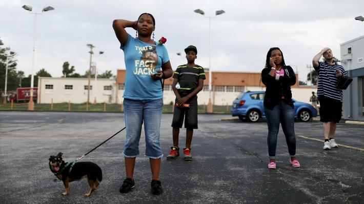 In Ferguson, Mo., A City Meets The Spotlight