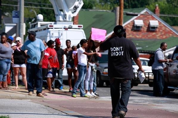 Police Shooting in St. Louis Brings New Tension to Ferguson