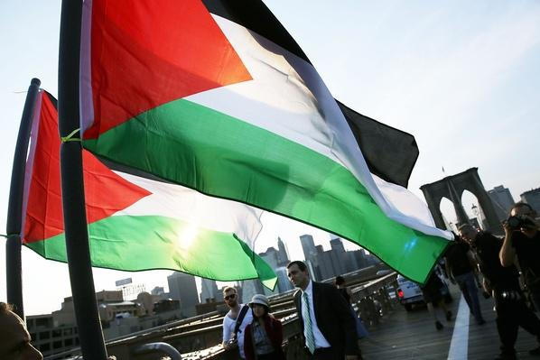 Activists Hold Palestinian Solidarity March And Rally | Palestine-Israel Conflict