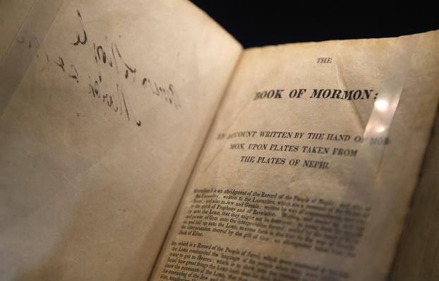 Mormon Church Displays Original Book of Mormon Manuscript | World Religions: Mormonism