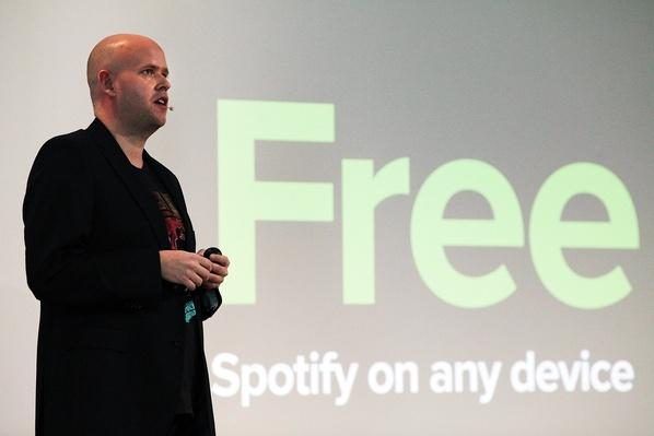 Online Music Streaming Service Spotify Holds Press Event In New York | Home Entertainment Technologies