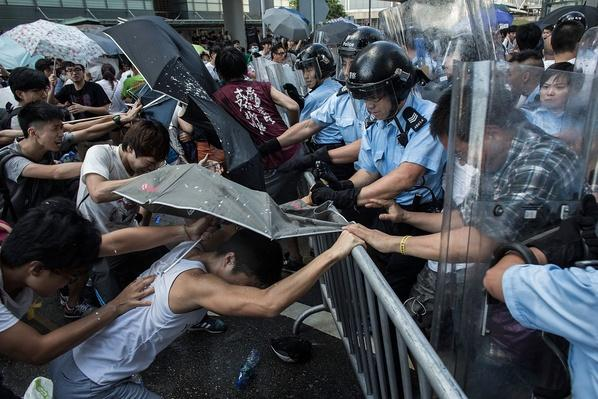 Hong Kong Students Stage Rally For Democracy   Civility & Brutality   The 20th Century Since 1945: Civil Rights & the New Millennium
