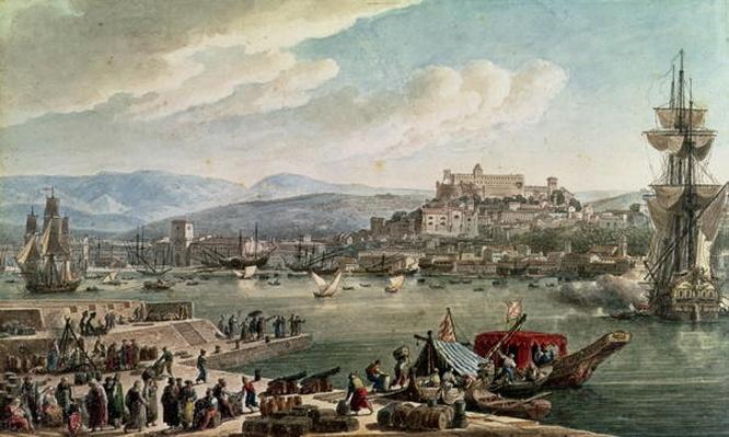 Trieste Harbour, 1802