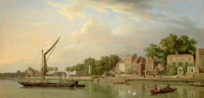 The Thames at Twickenham, 18th century