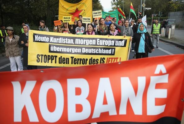 Kurds Protest For Kobane | Conflicts: Syria