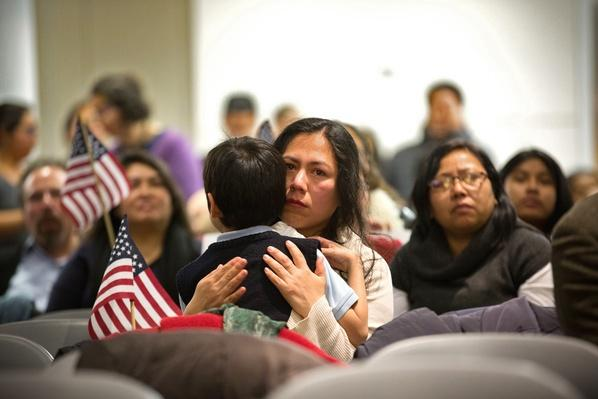 Immigration Activists Watch Obama's Speech On Immigration Reform | U.S. Immigration | 1840's to present | U.S. History