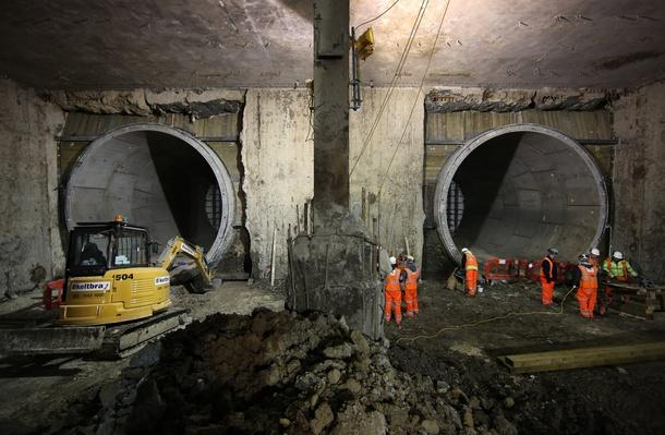 Work Continues On The Crossrail Railway Project | Human Impact on the Physical Environment | Geography