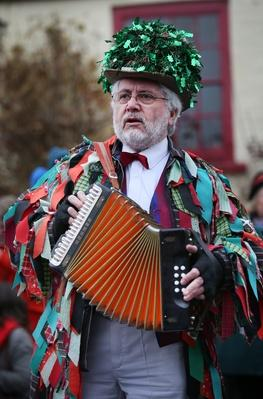 Morris Men Perform At Traditional Boxing Day Event | Musical Instruments