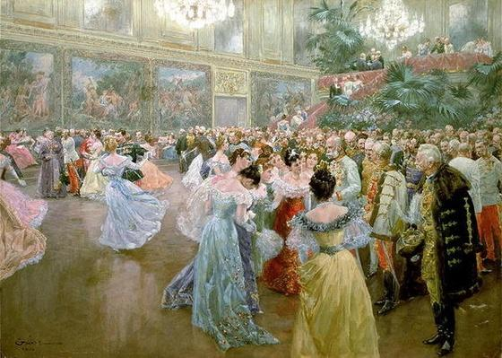 Court Ball at the Hofburg, 1900