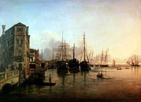 View of The Strada Nuova, Venice, 19th century