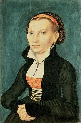Katharina von Bora, future wife of Martin Luther, 1526