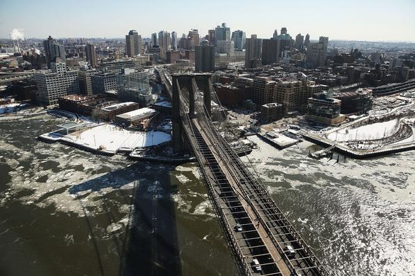 Arctic Cold Weather Chills New York City | Human Impact on the Physical Environment | Geography