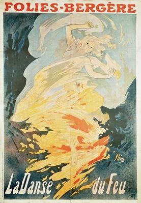 Folies Bergere: la Danse du Feu, France 1897