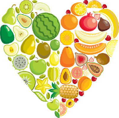 Fruit heart | Health and Nutrition