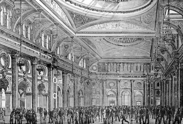 Interior of the Royal Exchange, Manchester