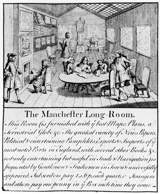 The Manchester Long Room, 1751
