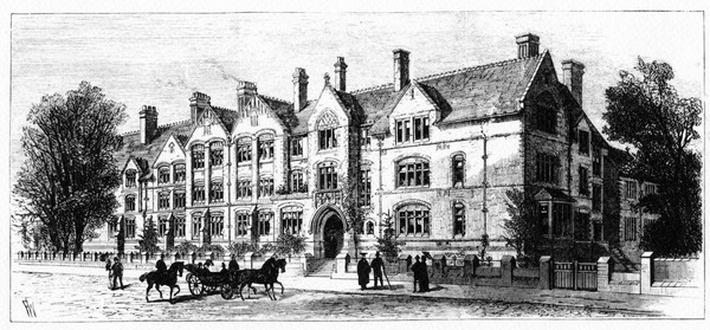 Dalton Hall, residence for students of Victoria University, Manchester