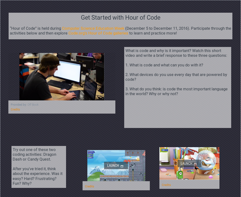 Get Started with Hour of Code