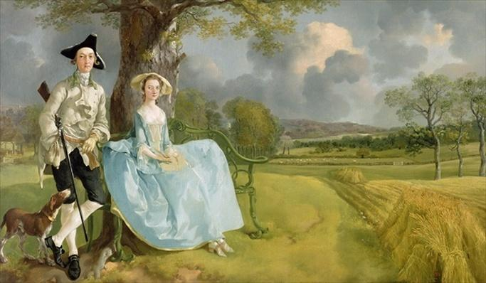 Mr and Mrs Andrews, c.1748-9