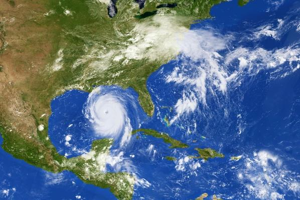 Hurricane Katrina from space | Natural Disasters: Hurricanes, Tsunamis, Earthquakes