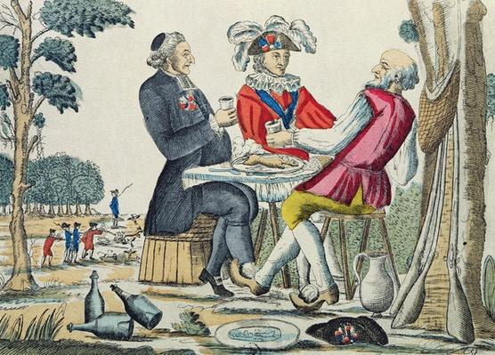 The Patriotic Snack, Reunion of the Three Estates, 4th August 1789