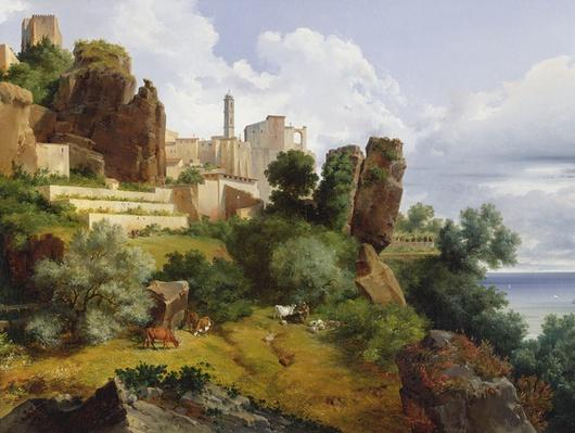 Roquebrune Landscape
