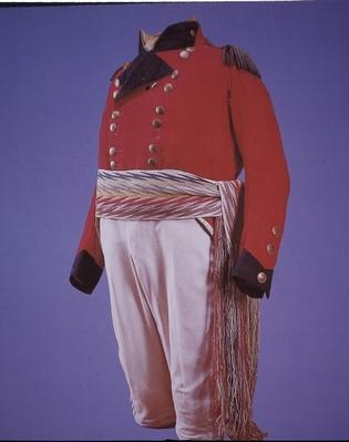 British Army uniform of Major General Isaac Brock, c.1812