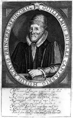 William Butler, after an original portrait at Clare Hall, Cambridge, 1620