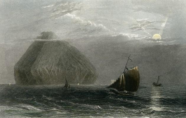 Ailsa Craig, engraved by J. T. Willmore