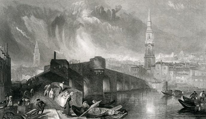 Inverness, engraved by W. Miller, 1836