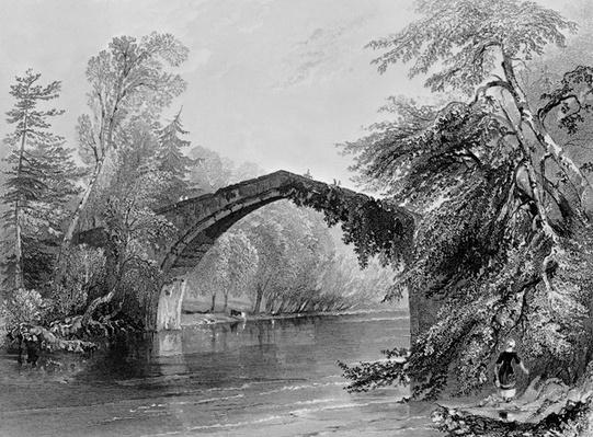 Bridge of Doon, engraved by G. K. Richardson