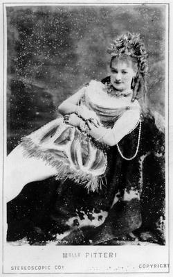 Carte de Visite of Mlle Pitteri