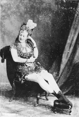 Carte de Visite of Miss Lardy Wilson, c.1870s