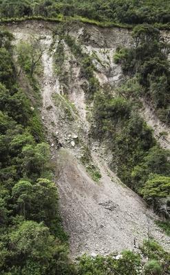 Landslide in Jungle Valley on Salkantay Trek | Earth's Surface