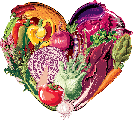 vegetables heart | Health and Nutrition