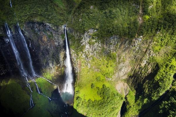 Reunion Island, Cirque De Salazie, the Trou De Fer Waterfall in Belouve Forest | Earth's Surface