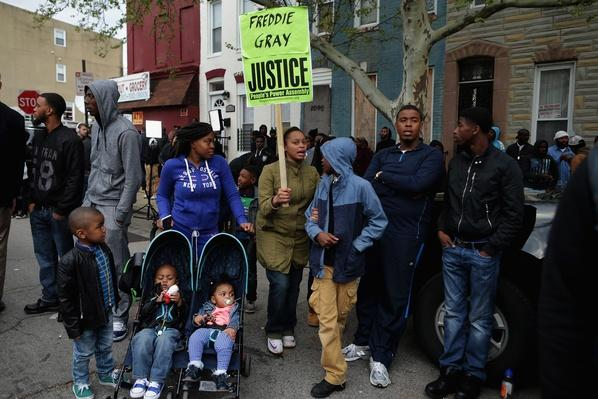 Protesters March Over Death Of Freddie Gray After Police Arrest | Civility & Brutality | The 20th Century Since 1945: Civil Rights & the New Millennium