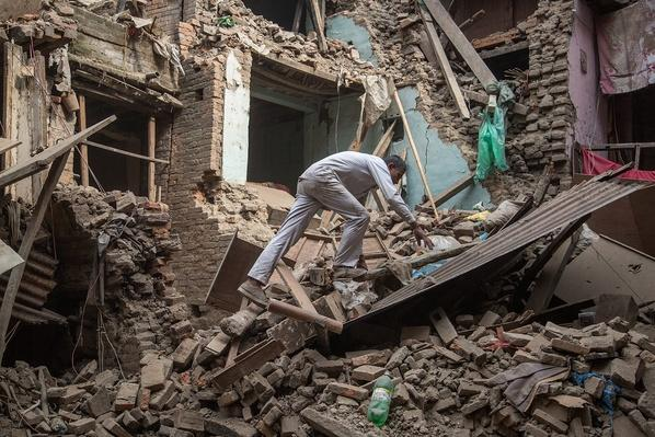Death Toll Rises Following Powerful Earthquake In Nepal | Natural Disasters: Hurricanes, Tsunamis, Earthquakes
