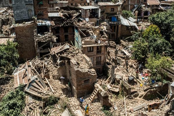 Rescue Operations Continue Following Devastating Nepal Earthquake | Natural Disasters: Hurricanes, Tsunamis, Earthquakes