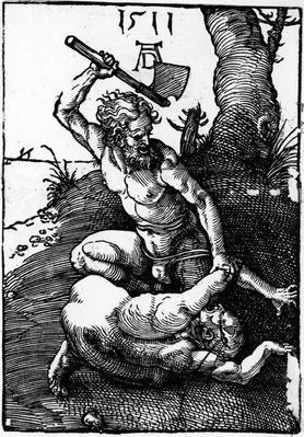 Cain killing Abel, 1511