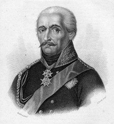 General Gebhard Leberecht von Bl�cher, engraved by Adam Smith