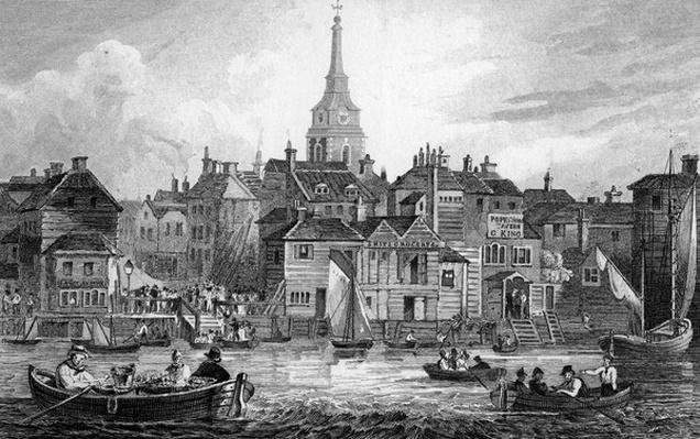 Gravesend, engraved by Josiah Henshall, 1832